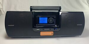 SiriusXM SXSD2 Portable Speaker Dock Boombox + Sirius Onyx EZ Radio Super Clean