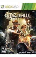 Deadfall Adventures Xbox 360/Xbox One/series X Game Rare Collectible