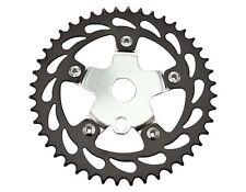 Bicycle Sprocket 913 44t 1/2 X 1/8 Black/Chrome. BMX Bike, Lowrider (137860)