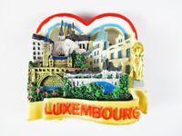 Luxemburgo Imán Fridge Viajes Recuerdo Luxemburgo, Pont Adolphe Nuevo