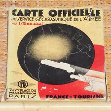 Pochette 5 cartes officielles Service Géographique Armée Société générale EPOC 1