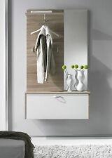 Garderobe Sara, Flurgarderobe, Garderobenpaneel, Spiegel, Wandgarderobe
