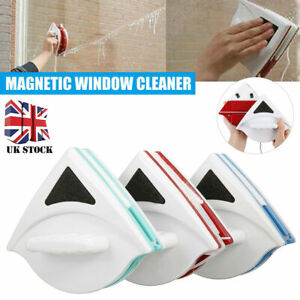 Magnetic Window Cleaner Glazed Window Double Sided Glass Wiper Clean Brush Tools