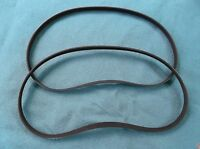 2 NEW DRIVE BELTS REPLACES SEARS CRAFTSMAN OR91721 DRIVE BELTS