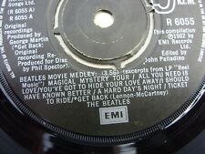 The Beatles Movie Medley Vinyl Single Excellent