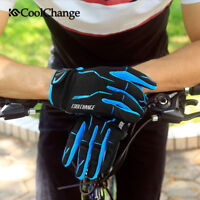 Shockproof Cycling Gloves Full Finger Autumn MTB Mountain Bike Bicycle Gloves L