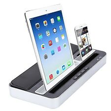 Dual function Speaker Charger Docking Station for iPhone6/5/s iPadmini Samsung