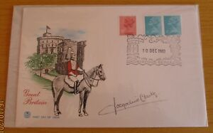 """FDC (First Day Cover) Signed Jacqueline Clarke, """"A Sharp Intake of Breathe"""""""