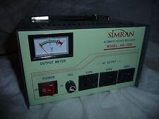 Used working Simran AR 1000 1000 Watt Automatic Voltage Regulator