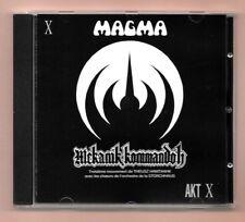 RARE CD ★ MAGMA - MEKANIK KOMMANDOH ★ ALBUM AKT X