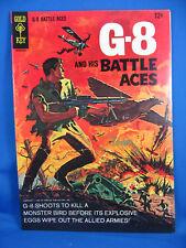 G 8 BATTLE ACES 1 VF 1966 GOLD KEY