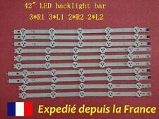 Bande de LED pour LG 42LN5400 1338A 1339A 1340A 1341A GZ PRO FRANCE