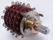 Alps 4P9W 4 pole 9 way Rotary Selector Switch ALR-4P9W EY02