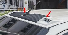 TOYOTA HILUX REVO 2015 BLACK- WHITE FRONT ROOF SPOILER INSTALL WITH TAPE 3M