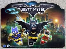 RARE PROMO one piece Lego Batman Movie Poster Display Standee