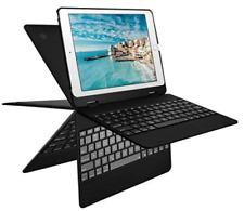 iPad Keyboard Case for 9.7 iPad 7 Colors Backlight with Wireless Keyboard Black