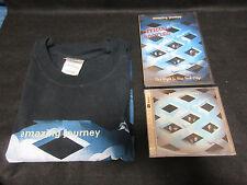 Amazing Journey One Night New York CD DVD T-Shirt WHO MOD Dream Theater Mr. Big