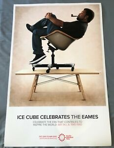 EAMES ICE CUBE Pacific Standard Time Poster Print Herman Miller