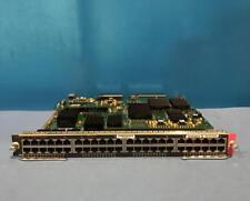 CISCO WS-X6848-TX-2T 48 PORT GBE COPPER MODULE FABRIC