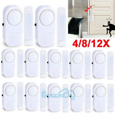 Wireless Home Window Door Burglar Security Alarm System Magnetic Sensor Lot