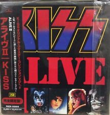 Alive II [Remaster] by Kiss (CD, Aug-1997, 2 Discs, Casablanca)