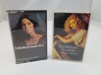 Emmylou Harris Cassette Tapes Set of 2 Cowgirl's Prayer & Profile Best Of