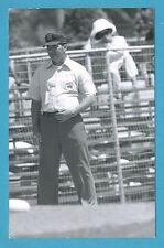Larry McCoy Vintage Baseball Umpire Postcard