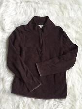 ExOfficio Womens XL Chocolate Brown Soft Pullover Sweater