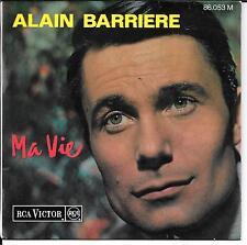 EP 3 TITRES--ALAIN BARRIERE--MA VIE / ADIEU LA BELLE