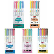 Zebra Mildliner Double-sided Pastel Highlighter - 15 Color Sets Colour Set