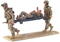 W Britain 10027 Help For Heroes Modern British Army Stretcher Bearer Set