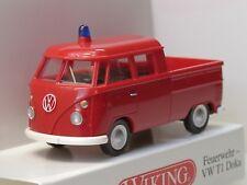 Wiking VW T1 DoKa Feuerwehr - 0861 28 - 1:87