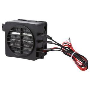 12V 100W PTC Car Fan Air Heater Temperature Heating Air Conditioning Heaters uk