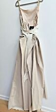 NWT LANVIN Paris Couture Wedding Dress Blush Taffeta Silk  Fr 46 US 12-14 France