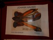 Johann Hauser poster de la maison des artistes dans Gugging/vienne NR 1