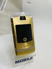 Motorola RAZR V3i - Dolce & Gabbana Gold (Unlocked) Mobile Phone