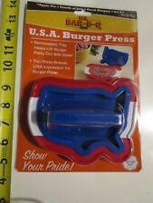 USA Hamburg Maker Meat Press Kitchen Gadget Food Plastic Hamburger Making