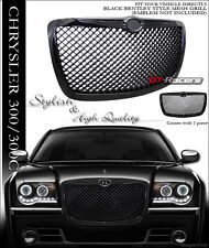 FOR 2004/2005-2010 CHRYSLER 300 300C BLACK MESH FRONT HOOD BUMPER GRILL GRILLE