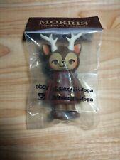 Kaori Hinata Red MORRIS Hinatique the cat with Antlers Sofubi Vinyl Figure New