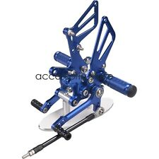 Blue Foot Peg Rearset Brake Shift Pedal For Suzuki SV650/S SV1000/S TL1000R