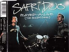 SAFRI DUO : PLAYED-A-LIVE (THE BONGO SONG) / CD
