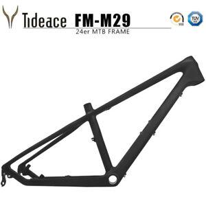 24ER Carbon OEM Mountain Bicycle Frames 13.5'' MTB AERO Bike Frameset Disc Brake