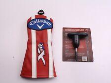 Callaway XR 16 Fairway Wood Headcover W/ Tool and Manual