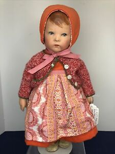 Small Angel Kathe Kruse Flexible Waldorf Doll