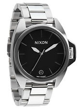 Nixon Anthem 43MM Black Dial Steel Ceramic Bezel Men Watch A396000-00