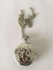 Full Metal Alchemist Brotherhood Ed Pocket Watch Necklace Cosplay Accessories