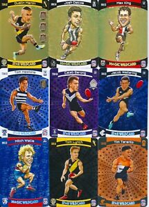2021 afl teamcoach star & magic wildcards you choose your card
