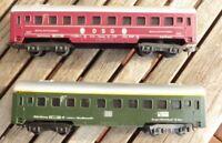 Lima Konvolut 2 Stück Personenzugwagen DSG und 1.Klasse der DB Ep.3 Spur H0