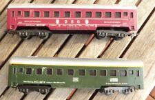 LIMA CONJUNTO 2 piezas personenzugwagen DSG y 1 CLASE DE DB Ep 3. Escala H0