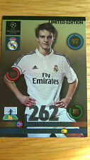 Panini Adrenalyn XL C/League 2014/15 Update Odegaard Limited Edition Card
